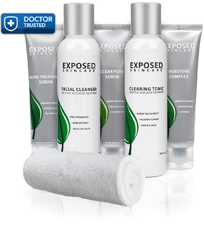 Exposed Acne Treatment Expanded Kit