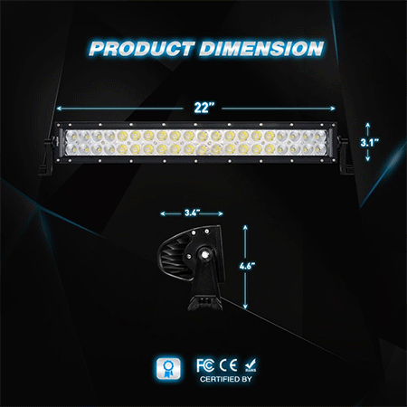 Nilight 24inch 120w LED