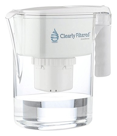 Image result for clearly filtered water filter pitcher