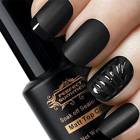 Perfect Summer Clear Matte Finish Top coat