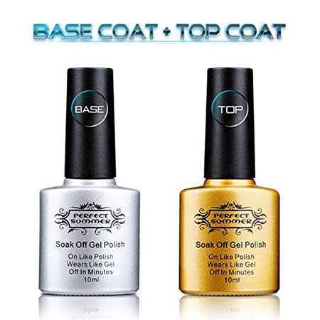 rfect Summer Clear Gel Base Coat &amp Top