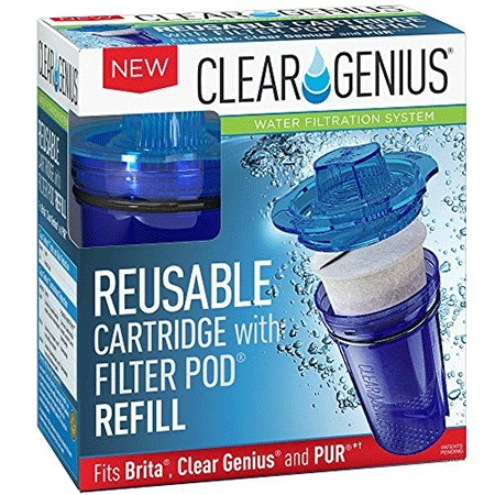 Clear Genius Reusable Cartridge with Filter Pod SU 11