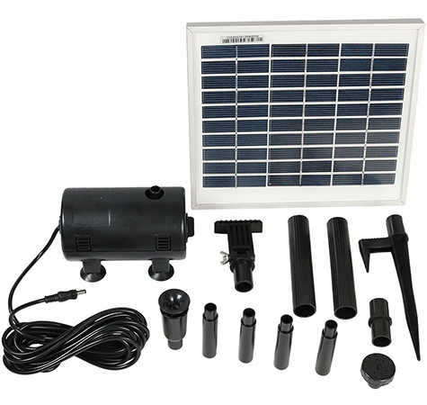 Sunnydaze Décor Solar Pump and Solar Kit