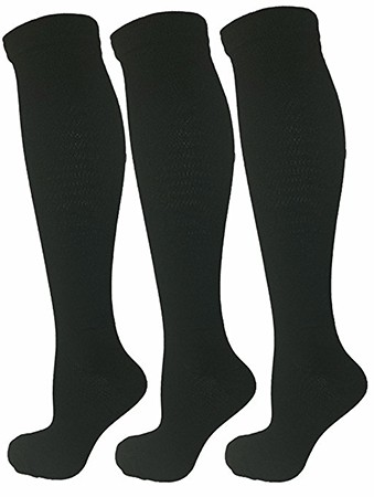 3 Pair Black LargeX Large