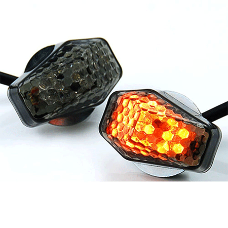 Anzio 15 Amber LED Flush Mount Turn Signal