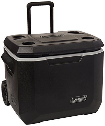 Coleman 50-Quart Wheeled Cooler | Xtreme 5-Day Cooler with Wheels