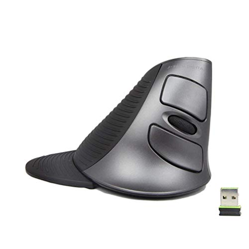 J-Tech Digital Scroll Endurance Wireless Mouse Ergonomic Vertical USB