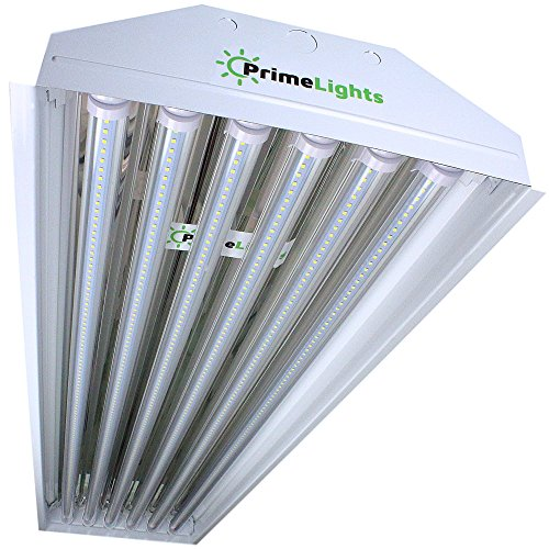 PrimeLights LED High Bay Light 6 Lamp 5000K Daylight White, 5 Year Warranty