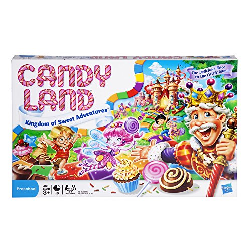 Hasbro Gaming Candy Land: Kingdom of Sweet Adventures