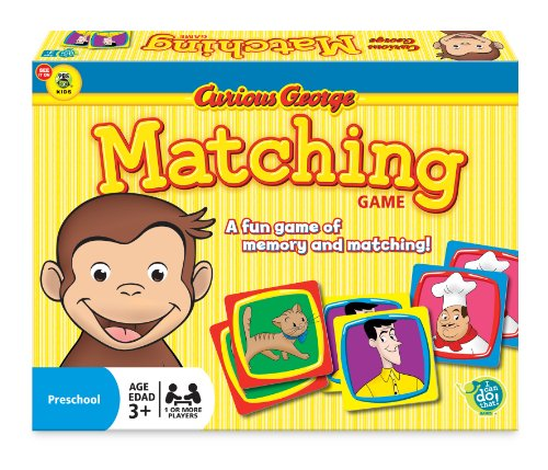 Wonder Forge Curious George Matching Game for Boys and Girls