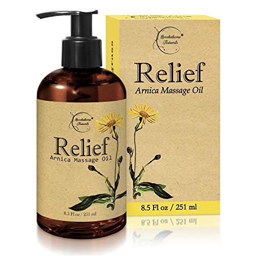 Brookethorne Naturals Relief Arnica Massage Oil