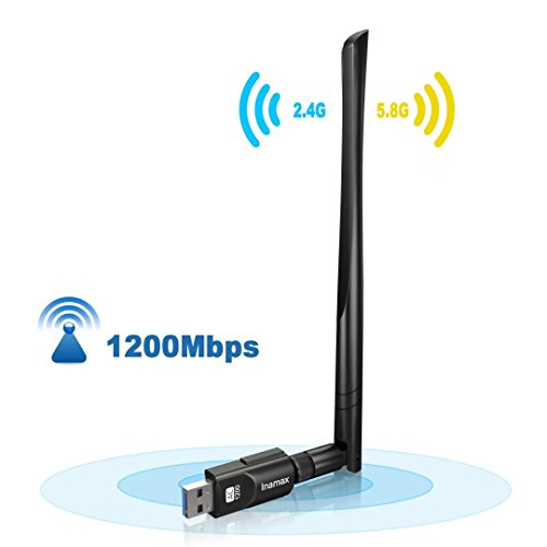 Inamax USB WiFi Adapter 1200Mbps