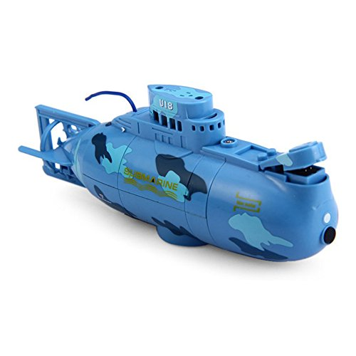 Kids Mini RC Toy Remote Control Boat Submarine