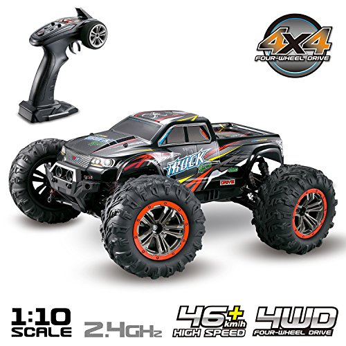 Hosim Large Size 1:10 Scale High Speed 46km/h 4WD 2.4Ghz Remote Control Truck 9125