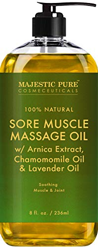 Majestic Pure Arnica Massage Oil