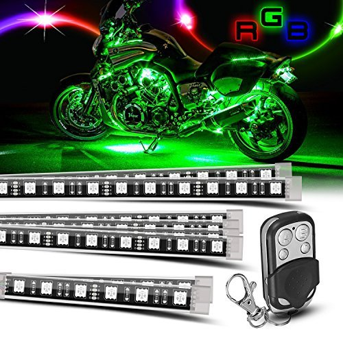 "24/"" BLUE LED STRIP Flexible 18 SMD Light bulb 12V for Motorcycle//Chopper//Scooter"