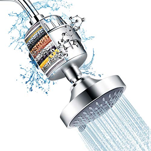 FEELSO Filtered Shower Head Combo