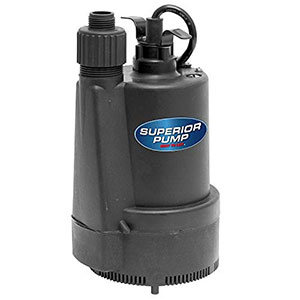 Water Powered Backup Sump Pumps