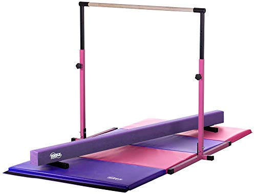 Little Gym - Adjustable Horizontal Bar - Purple Low Balance Beam