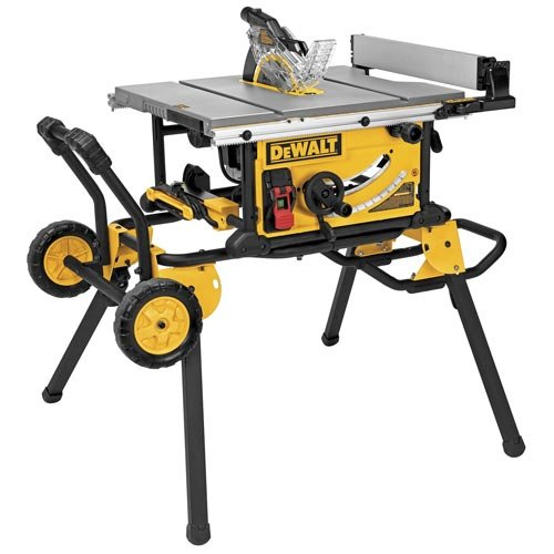 Product Description – DEWALT 10-Inch Table Saw with 32-1/2-Inch Rip Capacity (DWE7491RS)