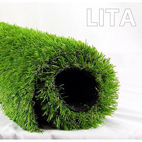 Lita Realistic Deluxe Artificial Grass 7ftx13ft