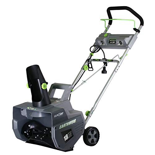 Earthwise SN72018 Electric Corded 13.5 Amp Snow Thrower, 18