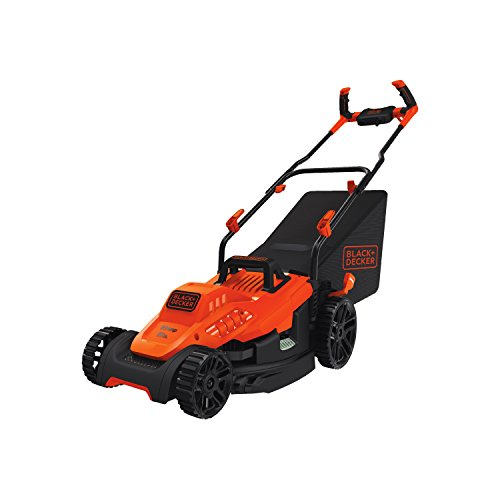BLACK+DECKER Electric Lawn Mower, 10 Amp, 15Inch