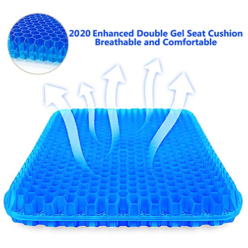 Thick Double Gel Seat Cushion by Suptempo