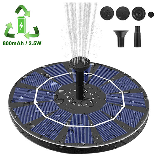 Viajero Solar Fountain Pump