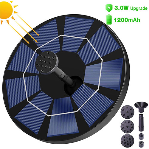 SYIHLON 3.0W Solar Fountain Pump