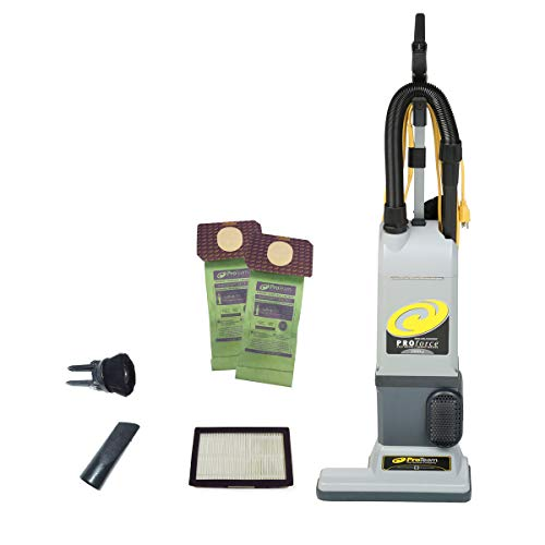 ProTeam ProForce 1500XP Bagged Upright Vacuum Cleaner with HEPA Media Filtration