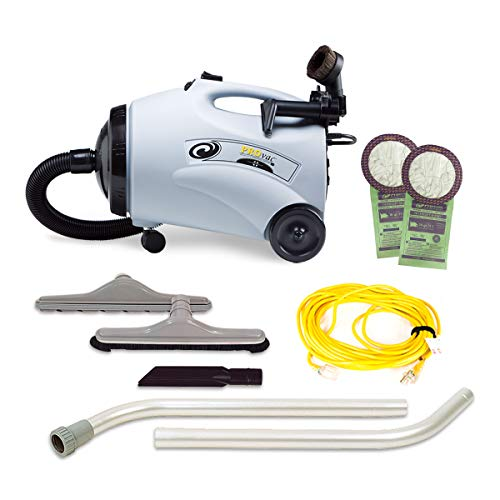 ProTeam Canister Vacuum Cleaners with Restaurant Tool Kit Attachments