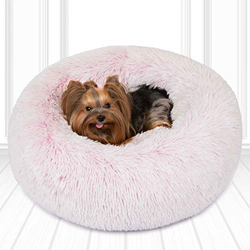 Friends Forever Donut Cat Bed. Faux Fur Dog Beds