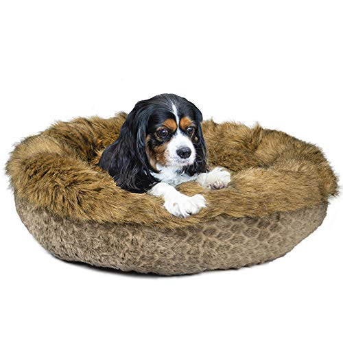 Ador-A-Pet Luxury Faux Fur Dog Bed for Small and Medium Dogs