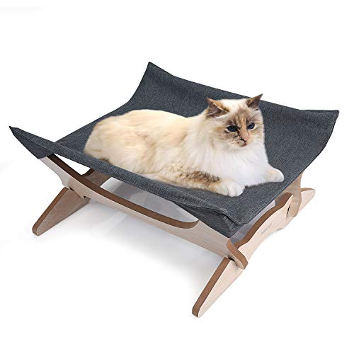 PERSUPER Elevated Cat Beds Cat Hammock Cat Blanket