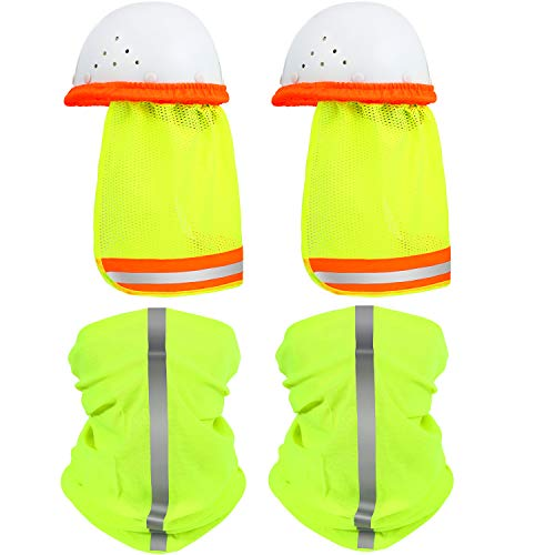 2 Pieces Hard Hat Sun Shade Neck Shield by SATINIOR