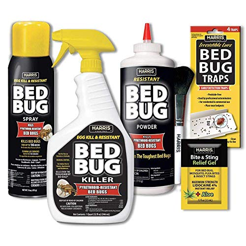 HARRIS Bed Bug Killer Value Bundle Kit