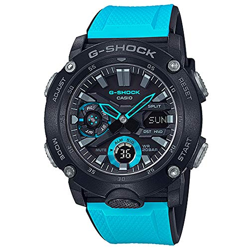 Men's Casio G-Shock Analog-Digital Carbon Watch GA2000-1A2