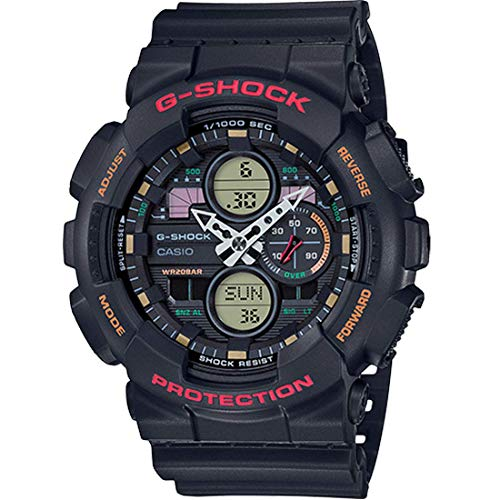 G-Shock GA140-1A4 Black One Size